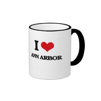 J'aime Ann Arbor Tasse À Café