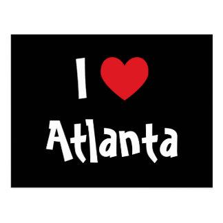 J'aime Atlanta Carte Postale