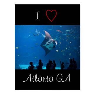 J'aime Atlanta Cartes Postales