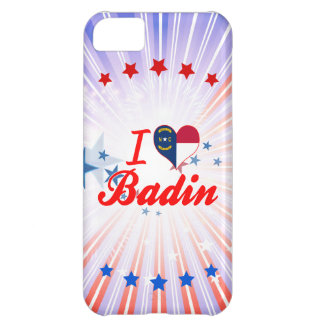 J'aime Badin, la Caroline du Nord Coque iPhone 5C