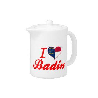 J'aime Badin, la Caroline du Nord