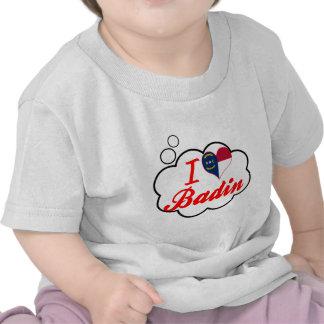 J'aime Badin, la Caroline du Nord T-shirts
