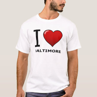 J'AIME BALTIMORE, DM - LE MARYLAND T-SHIRT