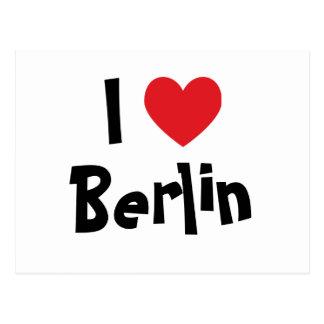 J'aime Berlin Carte Postale
