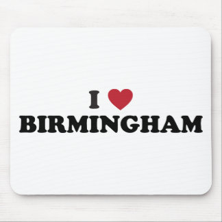 J'aime Birmingham Alabama Tapis De Souris