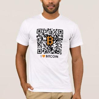 J'aime Bitcoin - faites votre propre T-shirt de