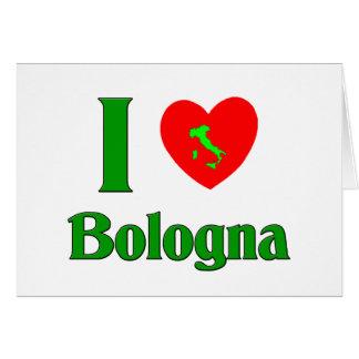 J'aime Bologna Cartes