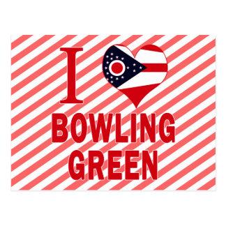 J'aime Bowling Green, Ohio Carte Postale
