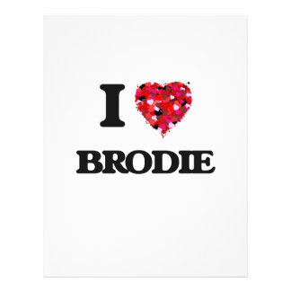 J'aime Brodie Prospectus 21,6 Cm X 24,94 Cm