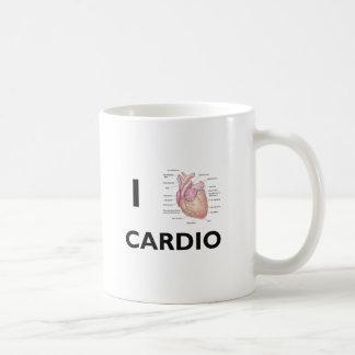 J'aime cardio- mug