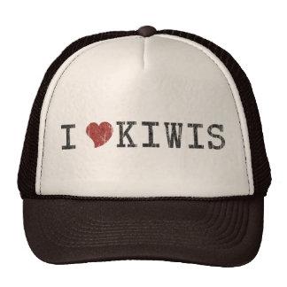 J'aime casquette vintage de kiwis le rétro