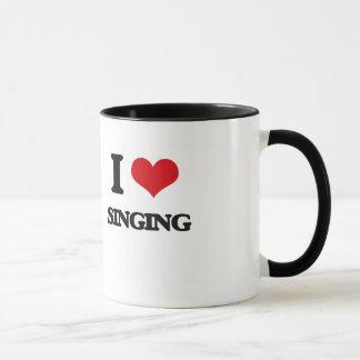 J'aime chanter mug