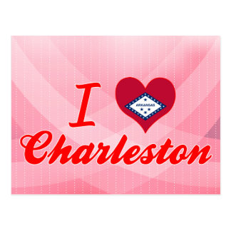 J'aime Charleston, Arkansas Carte Postale