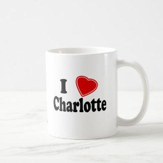 J'aime Charlotte Mug Blanc