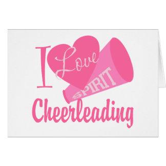 J'aime Cheerleading Cartes
