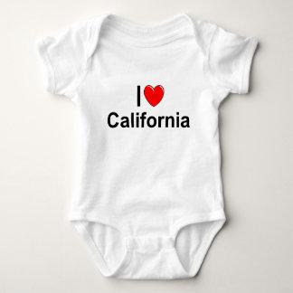 J'aime (coeur) la Californie Body