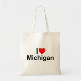 J'aime (coeur) le Michigan Sac En Toile