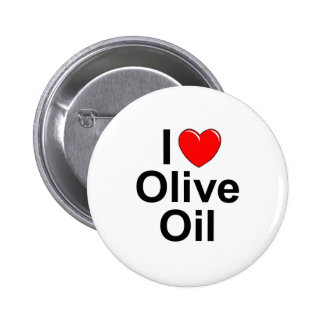 J'aime (coeur) l'huile d'olive pin's