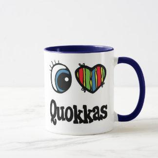 J'aime (coeur) Quokkas Mug