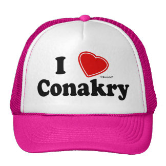 J'aime Conakry Casquettes De Camionneur
