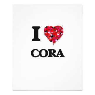 J'aime Cora Prospectus 11,4 Cm X 14,2 Cm