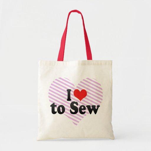 J'aime coudre sac