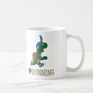 J'aime courir la tortue mug
