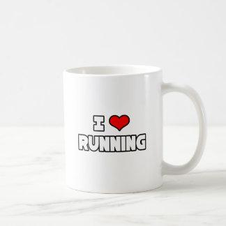 J'aime courir mug