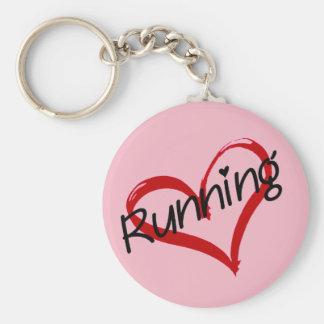 J'aime courir porte-clés