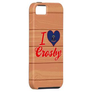 J'aime Crosby, le Dakota du Nord Étuis iPhone 5