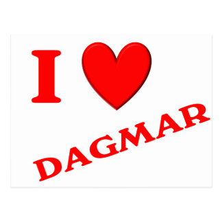 J'aime Dagmar Cartes Postales