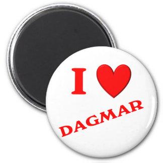 J'aime Dagmar Aimant