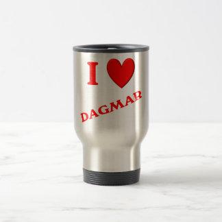 J'aime Dagmar Mug De Voyage En Acier Inoxydable