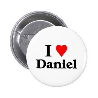 J'aime Daniel Badge Avec Épingle