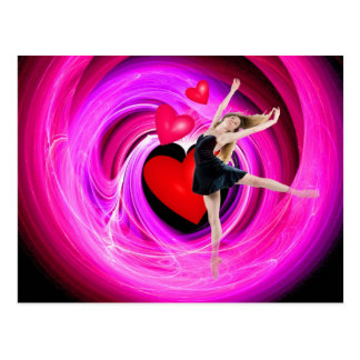 J'aime danser ! cartes postales