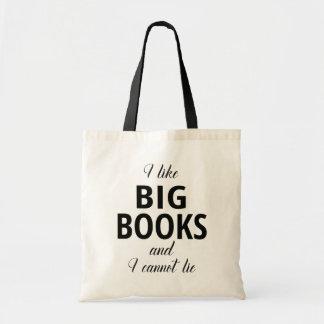 J'aime de grands livres et je ne peux pas me tote bag