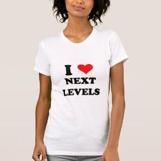J'aime de prochains niveaux t-shirts