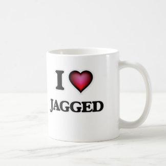 J'aime déchiqueté mug