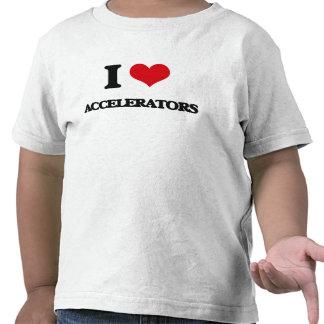 J'aime des accélérateurs t-shirts