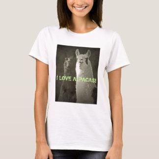J'aime des alpaga ! t-shirt