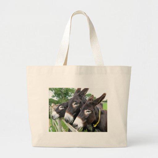 J'aime des ânes ! sac