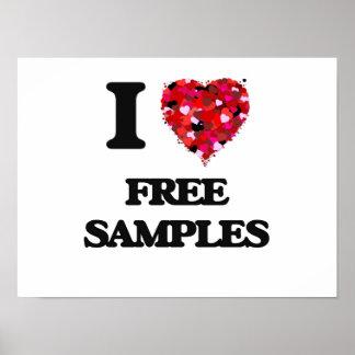 J'aime des aperçus gratuits poster