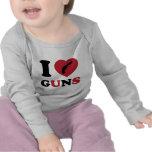 J'aime des armes à feu t-shirt