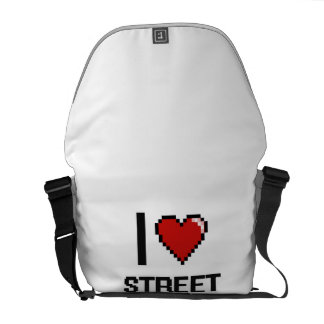 J'aime des artistes de rue besace