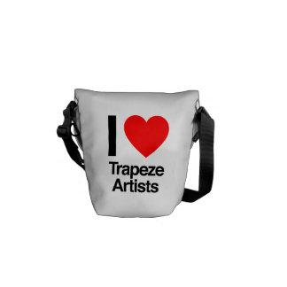 j'aime des artistes de trapèze sacoches