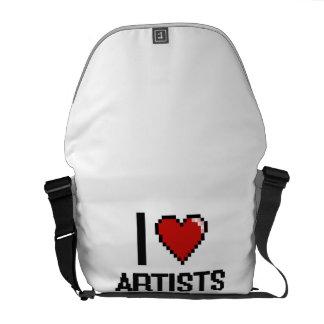 J'aime des artistes besace