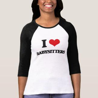 J'aime des babysitters t-shirt