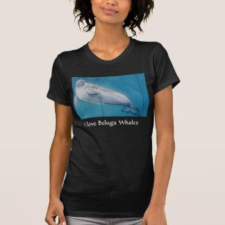 J'aime des baleines de beluga t-shirt