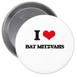 J'aime des bat mitzvah pin's avec agrafe