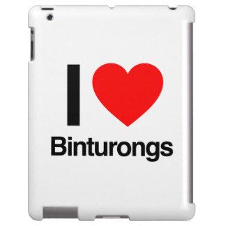 j'aime des binturongs coque iPad
